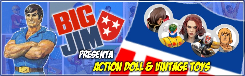 BIG JIM presenta ACTION DOLL & VINTAGE TOYS