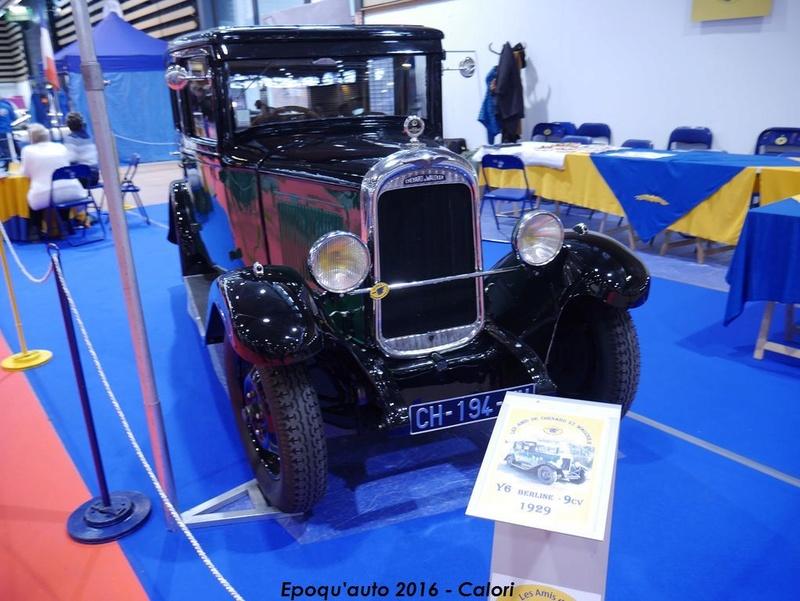 [69][4-5-6/11/2016] 38ème Salon International Epoqu'auto. - Page 3 P1020955
