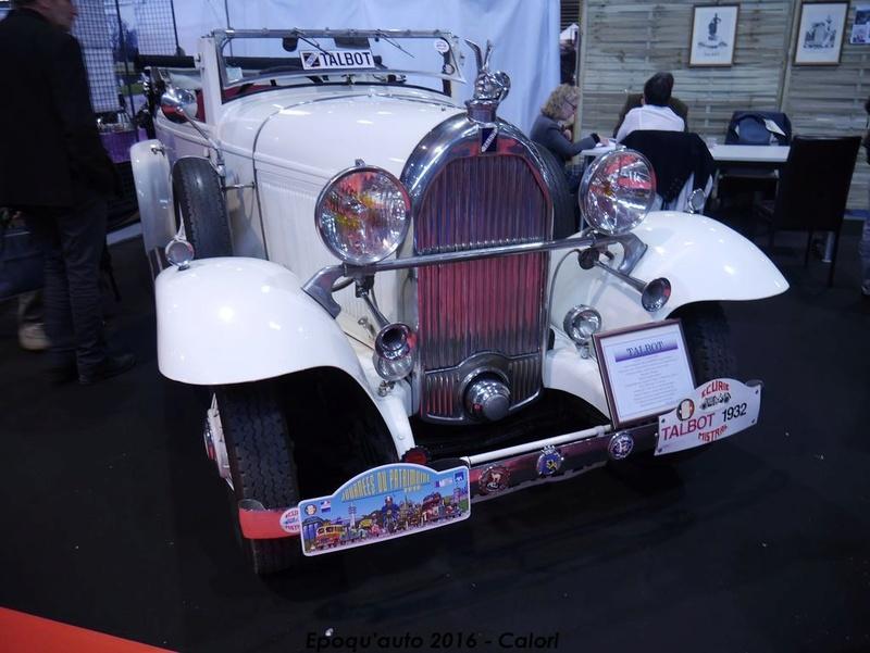[69][4-5-6/11/2016] 38ème Salon International Epoqu'auto. - Page 3 P1020957