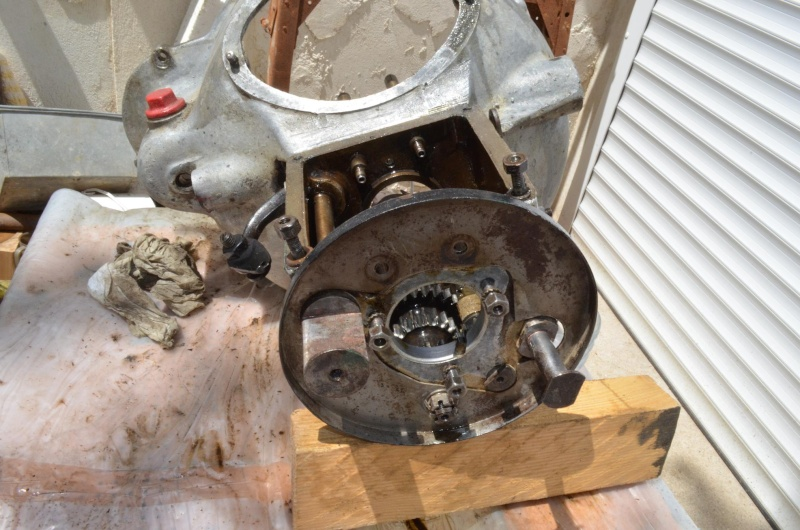démontage tambour frein de boîte Detail11