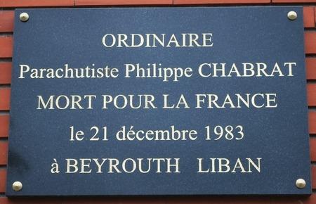 Commémoration attentat frégate 21 décembre 1983 11-69210