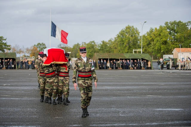 Le Maréchal des logis-chef Fabien Jacq du 515e Régiment du Train mortellement blessé par l'explosion d'une mine au Mali                          14991310