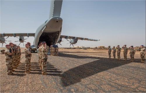 Le Maréchal des logis-chef Fabien Jacq du 515e Régiment du Train mortellement blessé par l'explosion d'une mine au Mali                          18036010