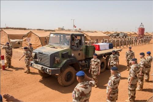 Le Maréchal des logis-chef Fabien Jacq du 515e Régiment du Train mortellement blessé par l'explosion d'une mine au Mali                          74034310