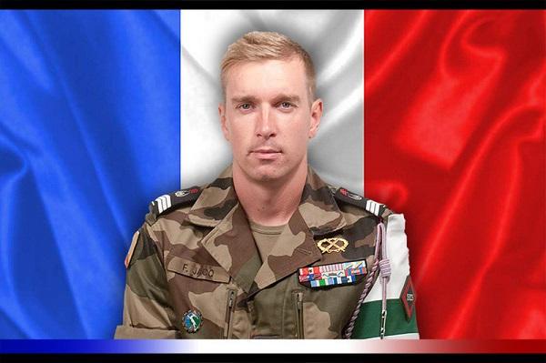 Le Maréchal des logis-chef Fabien Jacq du 515e Régiment du Train mortellement blessé par l'explosion d'une mine au Mali                          Jacq-210
