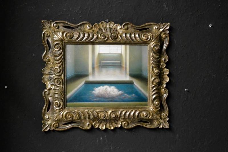 """""""Penser l'image et peindre la pensée"""" Collettiva Nunziante, Dalí, Magritte, Chagall, Delvaux 2017 0110"""
