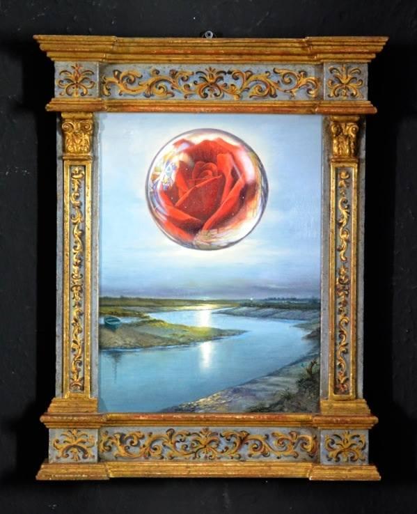 """""""Penser l'image et peindre la pensée"""" Collettiva Nunziante, Dalí, Magritte, Chagall, Delvaux 2017 0210"""