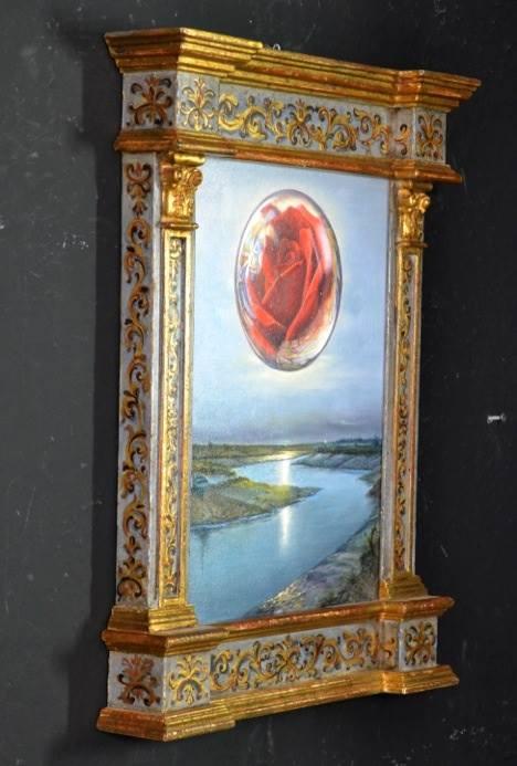 """""""Penser l'image et peindre la pensée"""" Collettiva Nunziante, Dalí, Magritte, Chagall, Delvaux 2017 0310"""
