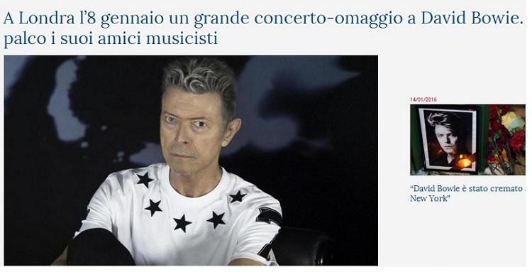 Addio a David Bowie Bowie10