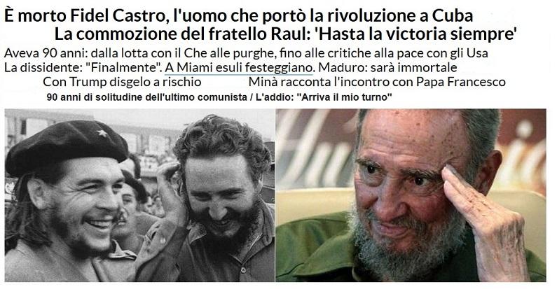 Addio a FIDEL Castro Fidel10