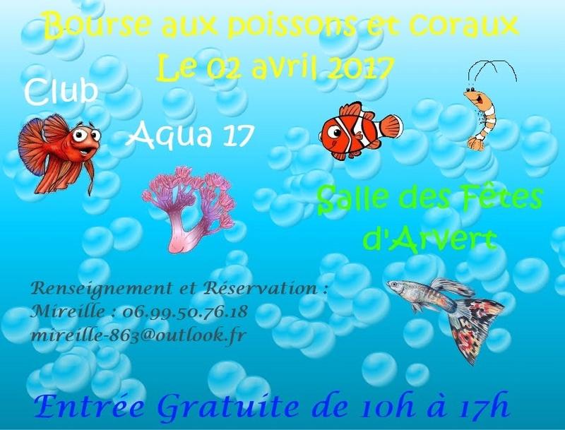 Bourse du club Aqua 17 Affich12