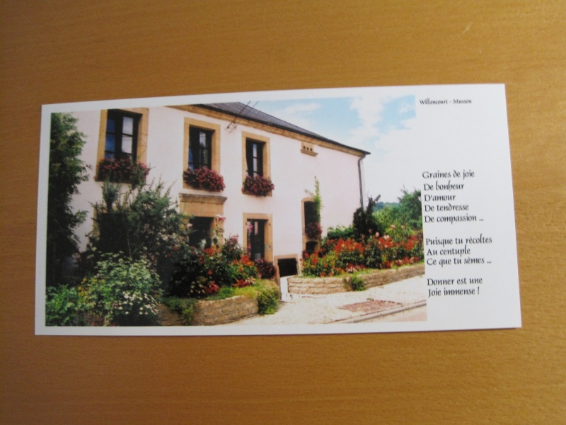** Pendant l'été, éch. de cartes postales ! ** M_c_be11
