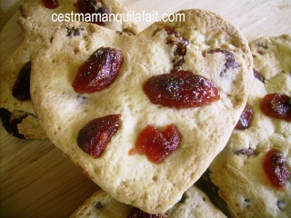 Biscuits, macarons, muffins et cupcakes de Saint Valentin C10