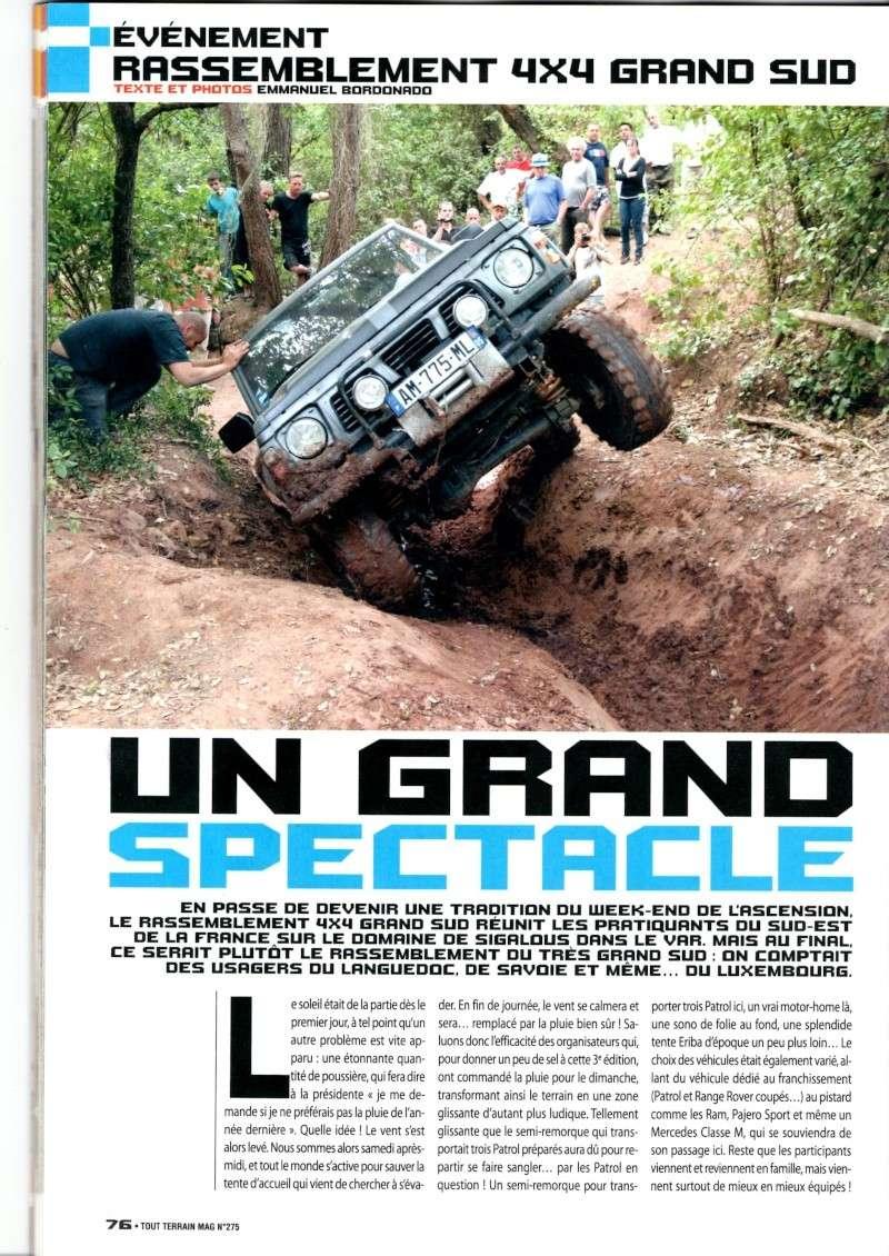 Edition 2012 / 4x4 TOUT TERRAIN MAGAZINE n°275 août 2012 (pages 76 et 77)  Rasso_12