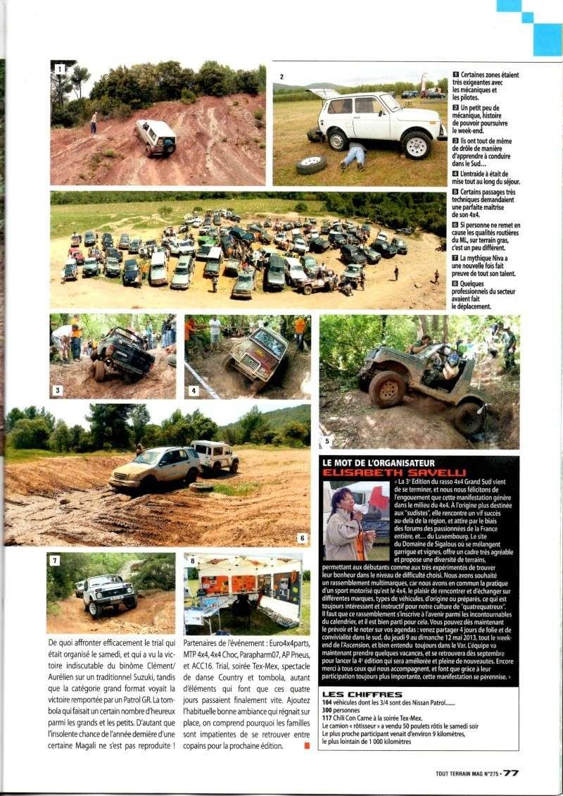 Edition 2012 / 4x4 TOUT TERRAIN MAGAZINE n°275 août 2012 (pages 76 et 77)  Rasso_13