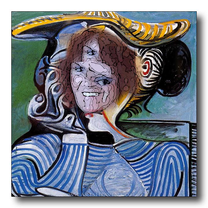 Grandi pittori rivisitati - Pagina 5 Picass13