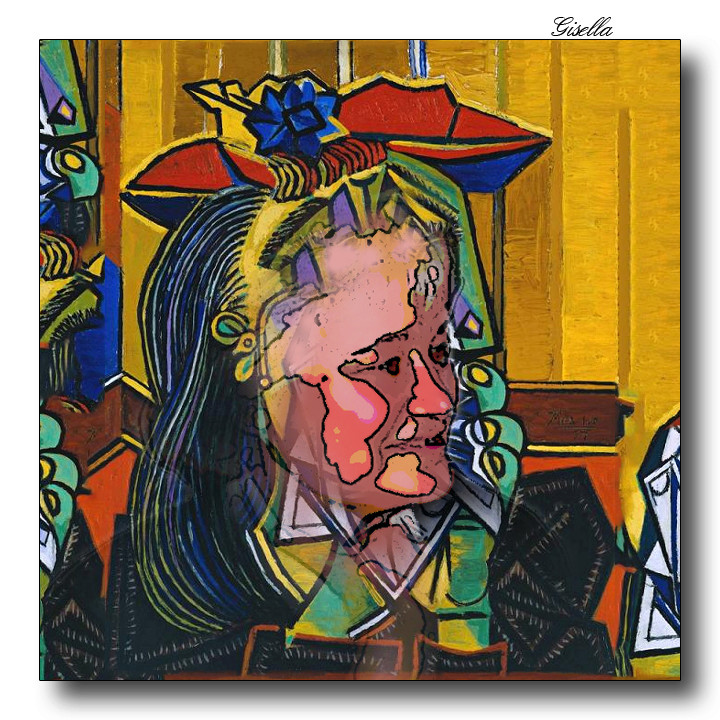 Grandi pittori rivisitati - Pagina 6 Picass15