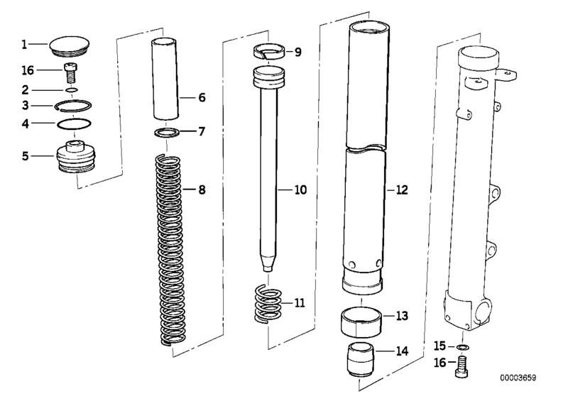 fourche R100R: dépose tubes plongeurs et fourreaux, comment faire ? Diag_210
