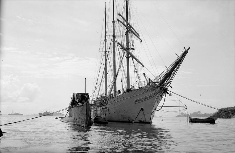 Navires Belge avec équipage Anglais Hms_me12
