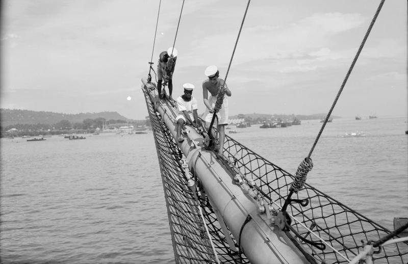 Navires Belge avec équipage Anglais Hms_me16