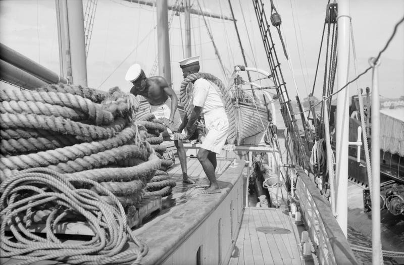 Navires Belge avec équipage Anglais Hms_me18