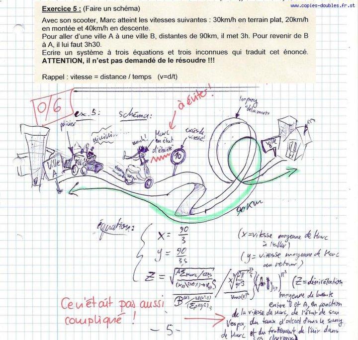 Images droles Maths110