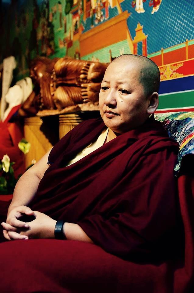 Khandro Rinpoché à Bruxelles Avril 2017 Khandr10