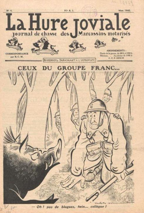 Journaux de troupes Hurejo11
