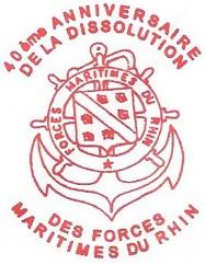 + FORCES MARITIMES DU RHIN + 061011