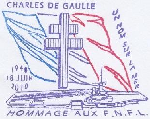 * CHARLES DE GAULLE (2001/....) * 20100611