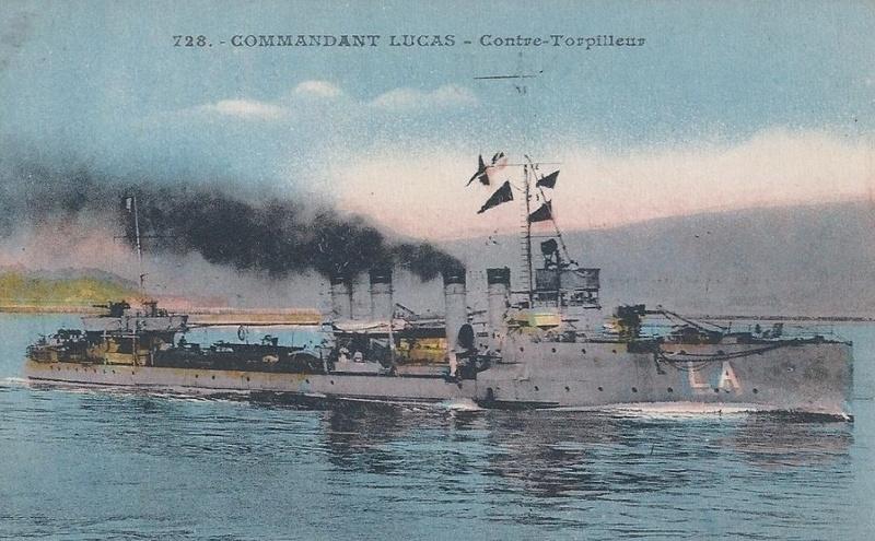 * COMMANDANT LUCAS (1914/1933) * 257_0010