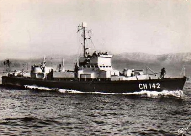 * CHASSEUR CH 142 (1944/1964) * 436_0010