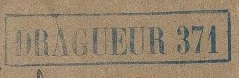 Dragueur - * DRAGUEUR D 371 (1946/1948) * 470210