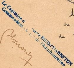 * COMMANDANT DE PIMODAN (1948/1976) * 5006_c10