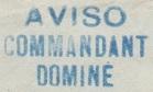 * COMMANDANT DOMINE (1940/1960) * 540210