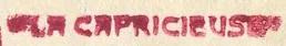 * LA CAPRICIEUSE (1940/1964) * 540510