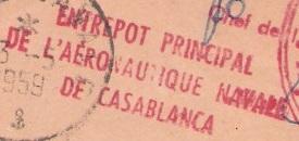 * PORT-LYAUTEY - KENITRA - CASABLANCA * 590510