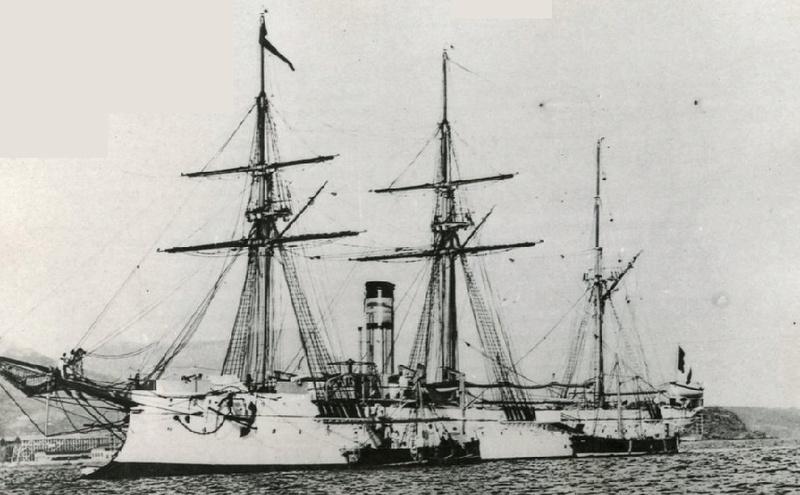* D'ESTAING (1883/1901) * 676_0010