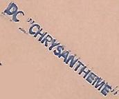* CHRYSANTHÈME (1954/1977) * 680410