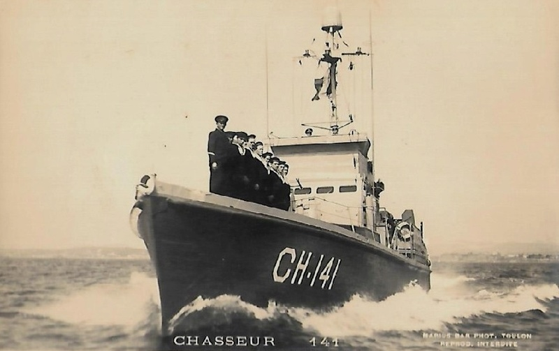 * CHASSEUR CH 141 (1944/1959) * 704_0010