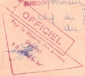 * DJIBOUTI * 710910