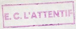 * L'ATTENTIF (1958/1978) * 711211