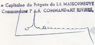 * COMMANDANT RIVIÈRE (1962/1992) * 810310