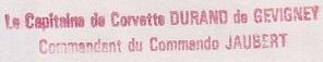 * COMMANDO JAUBERT * 890310