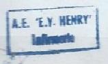 * ENSEIGNE DE VAISSEAU HENRY (1965/1994) * 931110