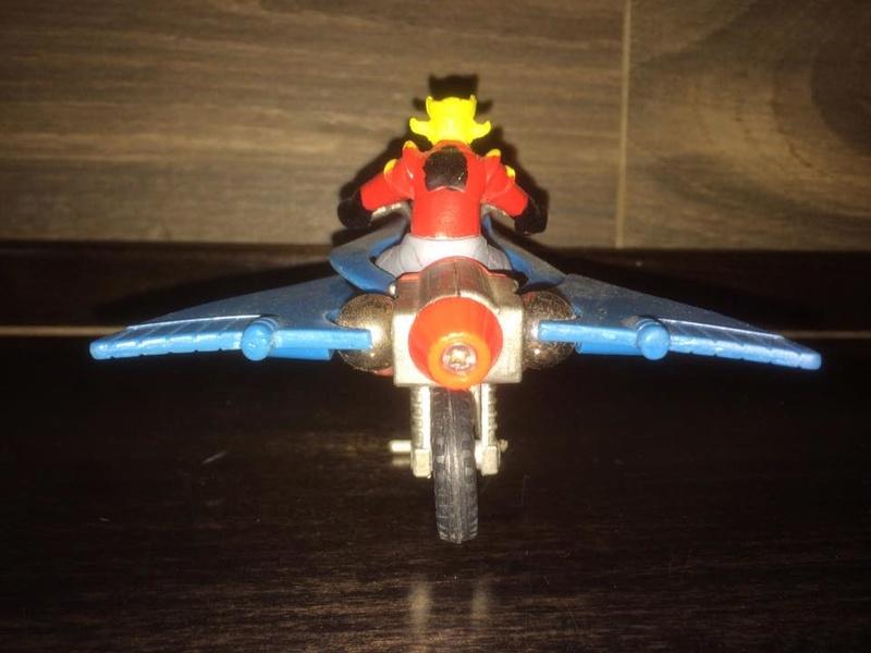 JEEG ROBOT ACCIAIO REPRO KOTETSU HIROSHI SHIBA CYCLE MOTOR BIKE NO POPY JAPAN VINTAGE 16114211