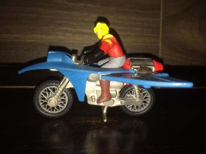 JEEG ROBOT ACCIAIO REPRO KOTETSU HIROSHI SHIBA CYCLE MOTOR BIKE NO POPY JAPAN VINTAGE 16195311