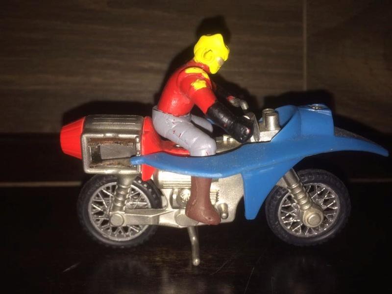 JEEG ROBOT ACCIAIO REPRO KOTETSU HIROSHI SHIBA CYCLE MOTOR BIKE NO POPY JAPAN VINTAGE 16265815