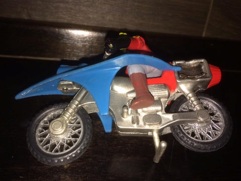 JEEG ROBOT ACCIAIO REPRO KOTETSU HIROSHI SHIBA CYCLE MOTOR BIKE NO POPY JAPAN VINTAGE 16386911
