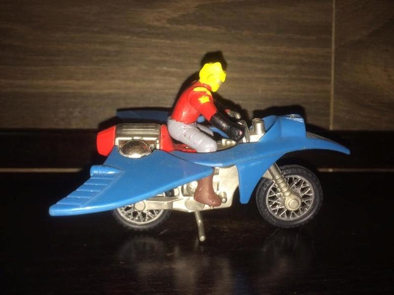 JEEG ROBOT ACCIAIO REPRO KOTETSU HIROSHI SHIBA CYCLE MOTOR BIKE NO POPY JAPAN VINTAGE 16387111